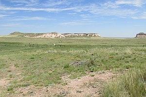 Chalk Bluffs Natural Area - Chalk Bluffs in the Pawnee National Grasslands, Weld County, Colorado