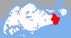 Location of Changi