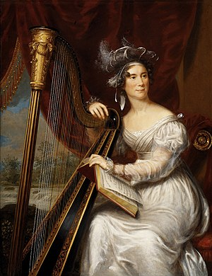 Louisa Adams - Image: Charles Bird King portrait of Louisa Adams