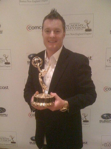 File:Charlie Moore with Emmy Award.JPG