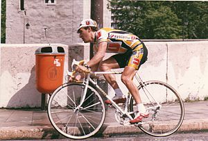 Système U (cycling team) - Charly Mottet at the 1988 Critérium du Dauphiné libéré