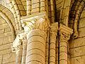 Chars (95), église Saint-Sulpice, nef, chapiteaux du 3e doubleau, côté nord 2.JPG