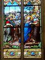 Chaumont-en-Vexin (60), église Saint-Jean-Baptiste, verrière n° 2 - Visitation.JPG