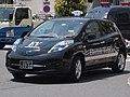 Checker Cab Yamasan Kotsu 263 Nissan Leaf ZE0.jpg