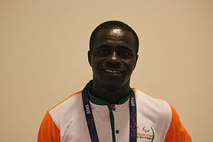 Ivory Coast at the 2016 Summer Paralympics - Chef-de-mission of the Ivory Coast, Koya Magbu, in Rio.