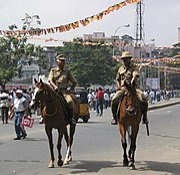 Chennai City Mounted Police