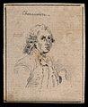 Chennevierre; portrait. Drawing, c. 1794. Wellcome V0009222ETL.jpg