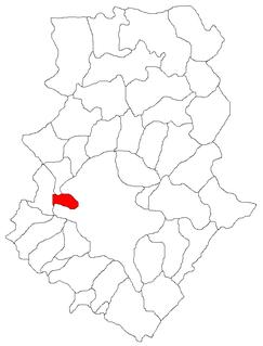 Chiajna Commune in Ilfov, Romania