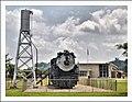 Chicago, Burlington & Quincy steam. locomotive 4-6-4 Hudson 3003 Burlington, Iowa - panoramio.jpg