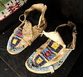 Children's Moccasins, c. 1875, Crow - Houston Museum of Natural Science - DSC02110.JPG