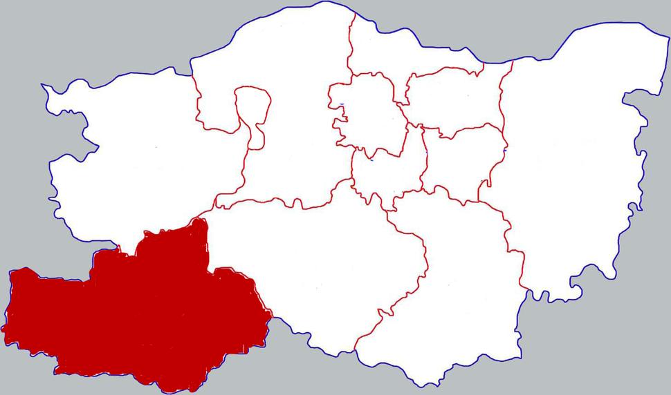 Location in Zhengzhou
