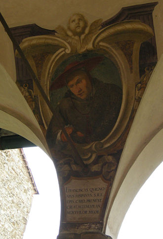Francisco de Quiñones - Francisco de Quiñones, pictured in the cloister of the chiesa di Ognissanti of Florence.