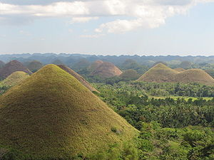 Chocolate Hills, Bohol Province, Philippines