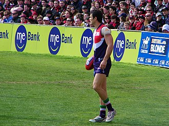 Chris Tarrant (footballer) - Chris Tarrant playing with Fremantle in 2009.