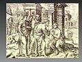 Christ cures a blind man with his finger. Engraving. Wellcome V0034841.jpg