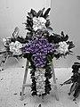 Christian Cross funeral wreath in Hong Kong.jpg