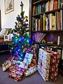 Christmas presents under the tree (11483513325).jpg