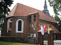 Chrzypsko Wielkie (p.Międzychód) nr 2381 A, gotycki kościół pw. św.Wojciecha (bud.1600-09) f2011-08-21 AdaM.JPG