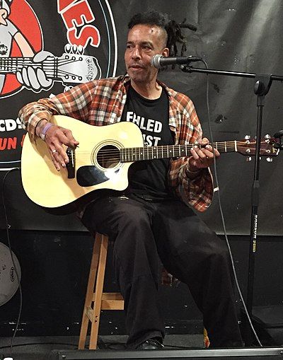 Chuck Mosley fronted Bad Brains from 1990-1991. Chuck Mosley.jpg