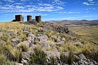 Chullpas of Cutimbo in Peru.jpg