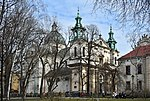 Church of St. Anne, 13 św. Anny street, Old Town, Krakow, Poland.jpg