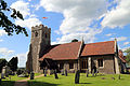 Church of St Christopher, Willingale, Essex, England - exterior from the south.JPG