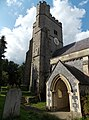 Church of the Holy Cross, Goodnestone - south porch and tower.jpg