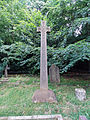 Church of the Holy Innocents, High Beach, Essex, England - churchyard Andrew Roddick monument.jpg