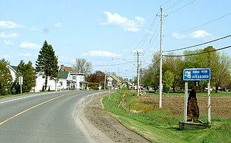 East Hawkesbury - Chute-a-Blondeau