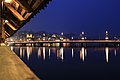 City of Luzern by night. View of St. Leodegar Church..jpg