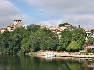 La rivière du Lot à Clairac