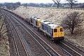 Class 20's 20-047 leading Hatton March 1986 (40662014290).jpg