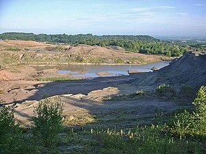 Clay pit - Clay pit in Britain