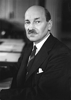 Clement Attlee Former Prime Minister of the United Kingdom
