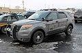 Cleveland Ohio RTA Transit Police K-9 Ford Explorer Interceptor (24387138785).jpg