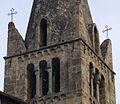 Clocher de l'église Saint Marcellin (la Salle les alpes) vue permettant de distinguer les cloches.jpg