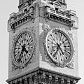 Clock tower of the Gare de Lyon, Paris 10 October 2010.jpg