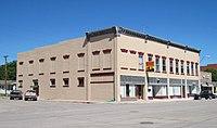 Co-operative Block, Crawford, Nebraska, from SE.JPG