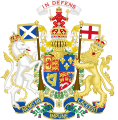 Coat of Arms of Great Britain in Scotland (1714-1801).svg