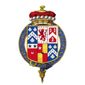 Coat of arms of Charles Townshend, 2nd Viscount Townshend, KG, PC, FRS.png
