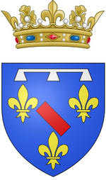 Description de l'image Coat of arms of the Duke of Enghien.png.