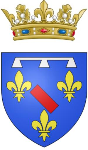 Louis Antoine, Duke of Enghien - Arms of the Duke of Enghien