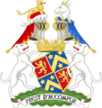 Coat of arms of the earl of Shrewsbury - Premier earl of England.png
