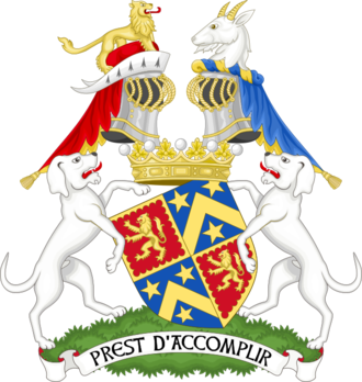 Earl of Shrewsbury - Image: Coat of arms of the earl of Shrewsbury Premier earl of England