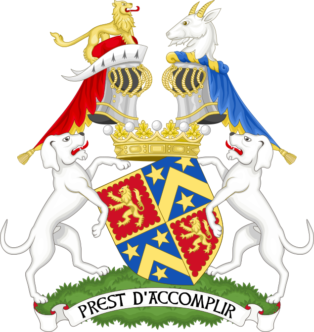 Coat of arms of the earl of Shrewsbury - Premier earl of England