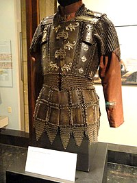 Coat of mail with horn plates, Philippines (Moro people), 1800s - Higgins Armory Museum - DSC05569.JPG