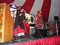 Cockney Knees-up performing at Bestival 2011.jpg