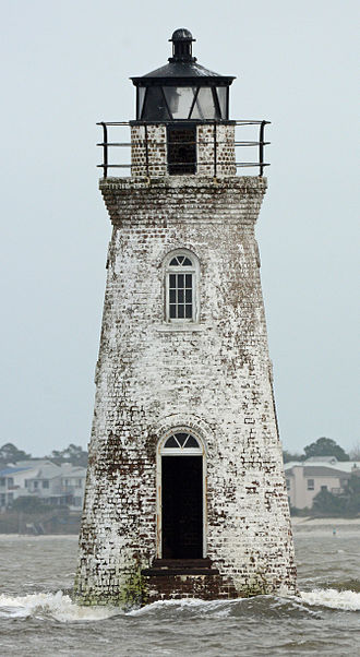 Cockspur Island - Image: Cockspur Island Lighthouse, Chatham county, GA, US