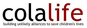 Colalife - ColaLife logo with strapline