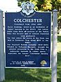 Colchester, Connecticut, historic sign 02.jpg